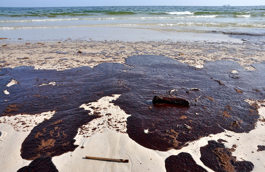effects of oil spills As oil from the gigantic spill in the gulf of mexico reaches us beaches, scientists warn that the potential long-term effects of the massive disaster are hard to gauge -- but potentially disastrous for some local species.