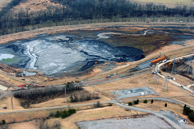coal ash impoundment