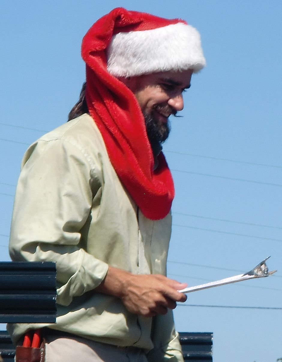 Scott Martin Aka Scotty Claus Is The Founder Of The Living Christmas Company Which Rents Potted Christmas Trees To California Residents And Businesses