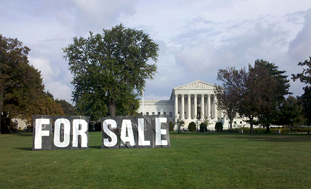 Living on Earth: Corporate Cash Derails Democracy